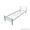 Кровати металлические с ДСП спинками для санаториев,  кровати для больниц,  опт. #1423111