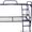 Кровати одноярусные металлические,  кровати металлические двухъярусные,  опт. #1433320