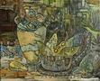 Картины казахстанских художников в Алматы в МФК