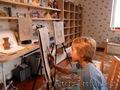 Уроки живописи и прикладного искусства.