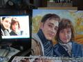 Пишу портреты  по фото разная техника живописи.