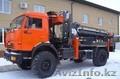Камаз43502 4х4 с буровой установкой junjin SA-040C