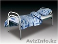 Кровати металлические двухъярусные для казарм,  кровати трёхъярусные для рабочих.