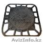 Канализационный люк из выскокпрочного чугунна С250,  квадратный ГОСТ 3634-99