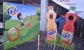 3D фигуры (хардпостеры),  декорации,  объемные напольные буквы (световые,  не свето