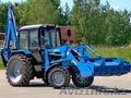 Экскаватор-бульдозер на базе трактора МТЗ
