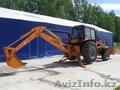 Экскаватор-погрузчик Амкодор-702ЕА-01 на тракторе Беларус-92П