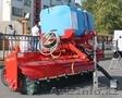 Щеточное оборудование ZKT с cистемой орошения и с гидравлическим изменением угла