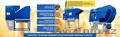 Сепаратор зерна АСМ,  калибровка семян,  оборудование для очистки зерна
