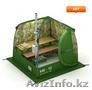 Продажа всепогодных палаток,  мобильных бань,  печей с доставкой по всему Казахста